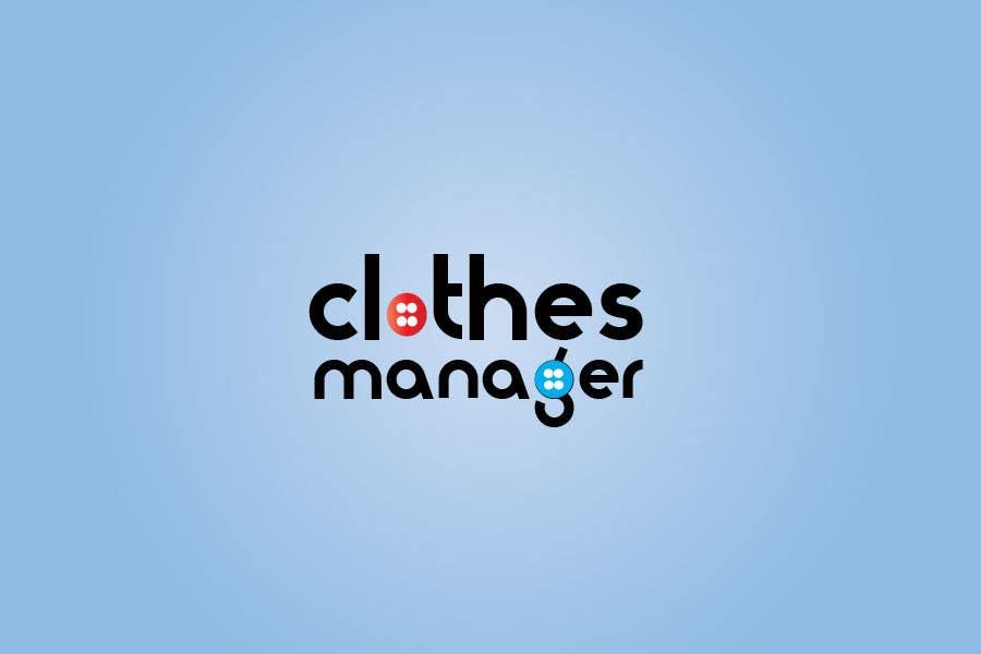 Konkurrenceindlæg #110 for Logo Design for Clothes Manager App