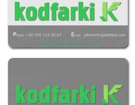 nº 27 pour Design some Business Cards for KODFARKI par dulphy82