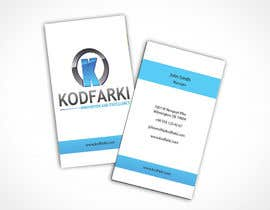 #17 cho Design some Business Cards for KODFARKI bởi Habib919000