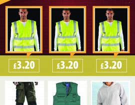 #4 para Design a marketing flyer for our workwear business por sanbose
