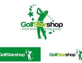 nº 151 pour Logo Design for Golf Star Shop par RobertoValenzi