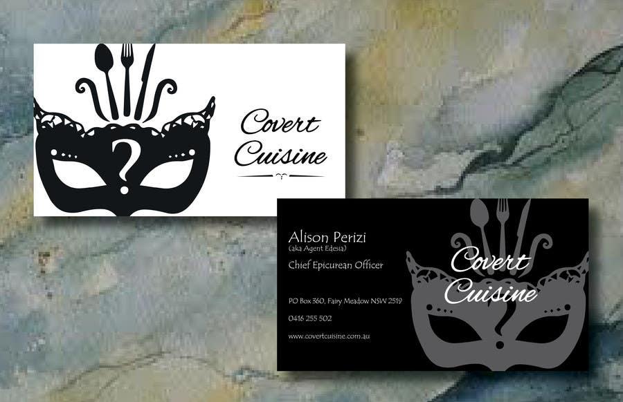Kilpailutyö #36 kilpailussa Design some Business Cards for Covert Cuisine