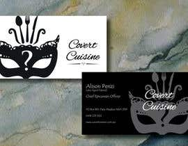 #36 for Design some Business Cards for Covert Cuisine af Sele2