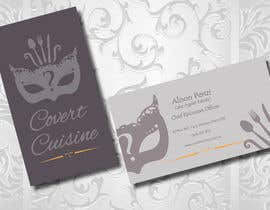 #38 cho Design some Business Cards for Covert Cuisine bởi Sele2
