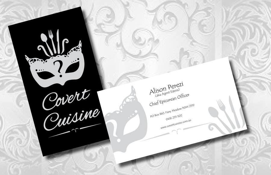 Kilpailutyö #40 kilpailussa Design some Business Cards for Covert Cuisine
