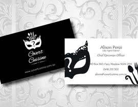 #57 cho Design some Business Cards for Covert Cuisine bởi Sele2