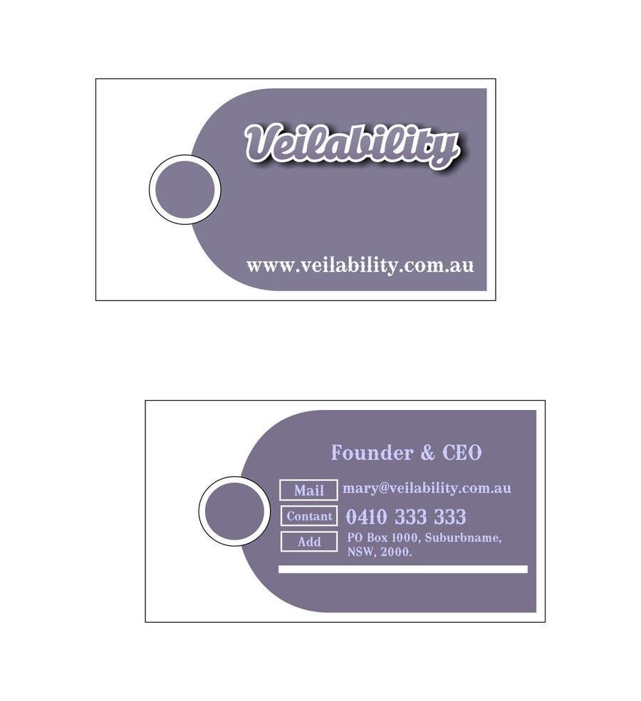 Penyertaan Peraduan #1 untuk Business Cards + Digital Signature for disruptive wedding portal