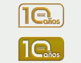 andryod tarafından 10 th  logo anniversary of a college career / logo de aniversario (10 años) için no 9