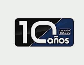 andryod tarafından 10 th  logo anniversary of a college career / logo de aniversario (10 años) için no 10