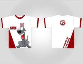#40 para T-shirt Design for K9 Pearly Whites por berkesoyuer