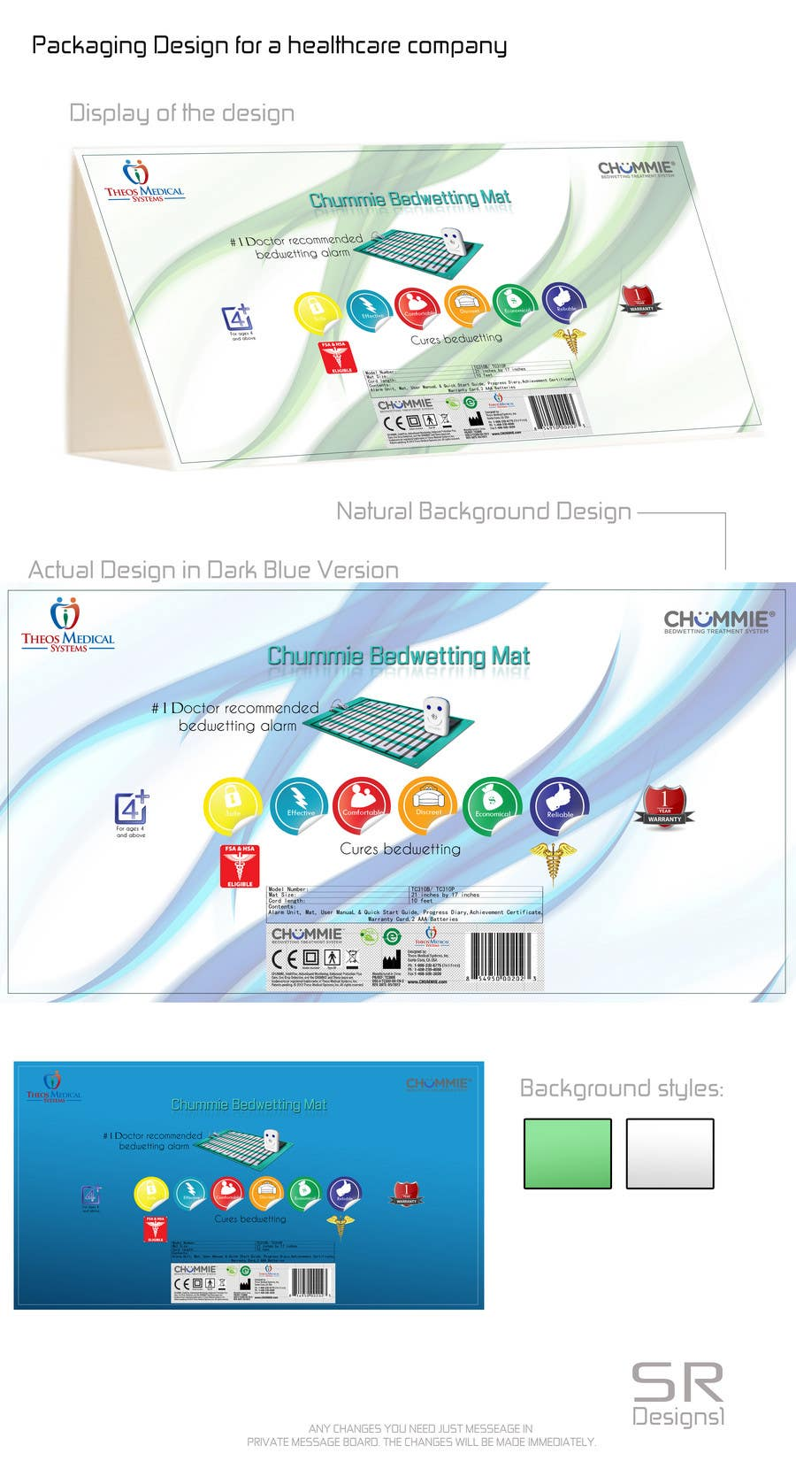 Konkurrenceindlæg #                                        17                                      for                                         Packaging Design for a healthcare company