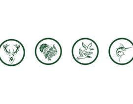 NepDesign tarafından Create 4 Icons. Turkey, Deer, Duck, and Fish. için no 12