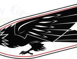geekygrafixbc tarafından Design an Eagle Tattoo için no 24