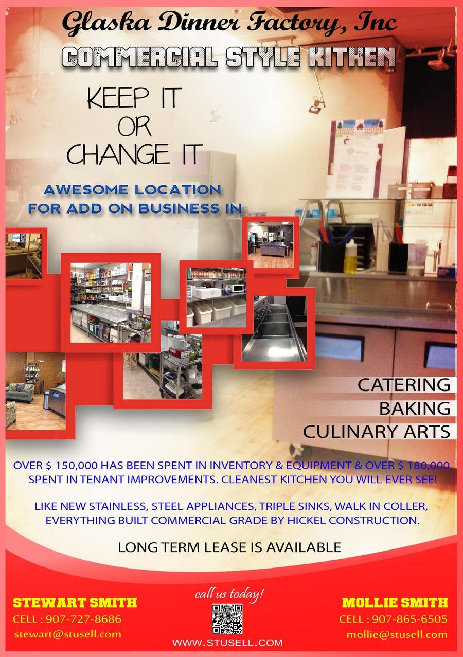 #15 for Design a Flyer for Ak Dinner Factory by dhonivenkat