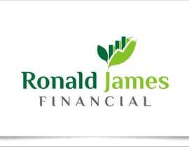 #133 for Design a Logo for Ronald James Financial by indraDhe