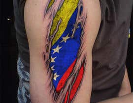 #17 for Torn flesh tattoo flag desing by hassanahmad93