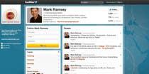 Graphic Design Inscrição do Concurso Nº39 para Twitter Background for Mark Ramsey Media
