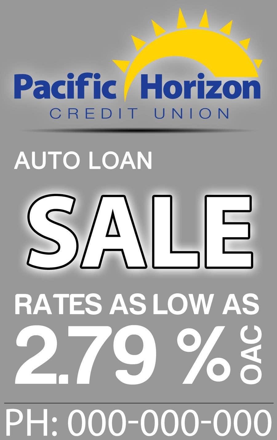 Inscrição nº 30 do Concurso para Graphic Design for Credit Union Auto Loan Sale