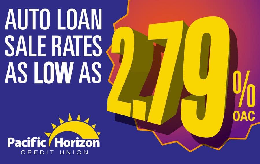 Graphic Design for Credit Union Auto Loan Sale için 41 numaralı Yarışma Girdisi
