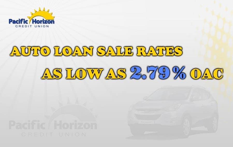 Inscrição nº 9 do Concurso para Graphic Design for Credit Union Auto Loan Sale