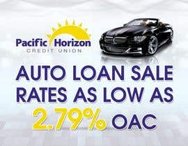 #5 para Graphic Design for Credit Union Auto Loan Sale por techwise
