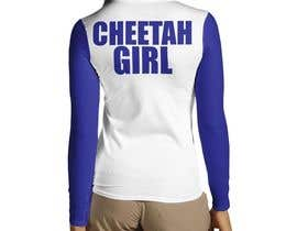 #40 untuk Simple T-Shirt Design: Cheetah Girl oleh noyan2012