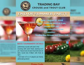 mdmirazbd2015 tarafından Trading Bay Grouse and Trout Club end of summer party için no 8