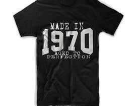 #47 para Simple T-shirt design needed ( por mgpcreationz