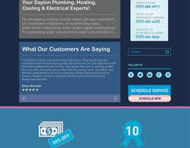 #27 for HVAC Company need home page mock-up. af noninoey