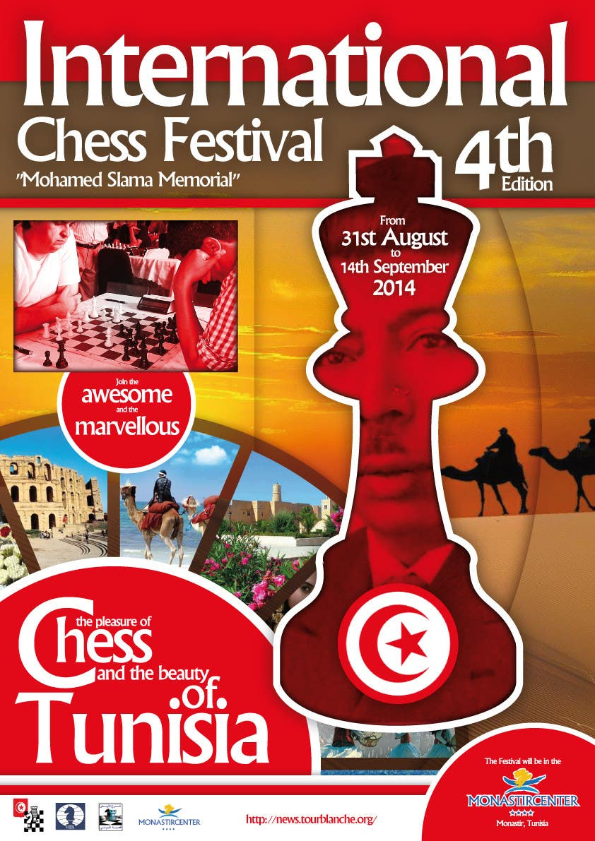 #12 for Design a Poster for Chess Festival by KevinChoiKang