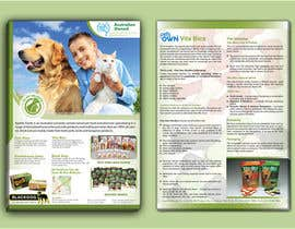 #16 para Design a Flyer for Healthy natural pet dog Treats por tahira11
