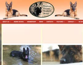 #12 para Design a Banner for Southeast German Shepherd Rescue Website por GuilleServera