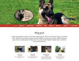 #3 for Design a Banner for Southeast German Shepherd Rescue Website by gridis