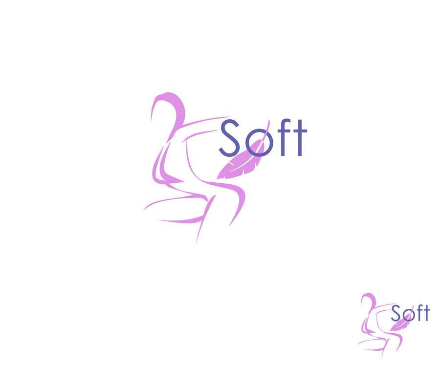 "Kilpailutyö #117 kilpailussa Logo design for brandname  ""SOFT""  : sex-lubricants, massage oils, sextoy cleaners."