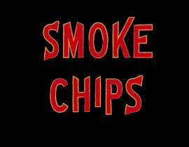 #10 for Design type style for the words Smoke Chips by karlacer