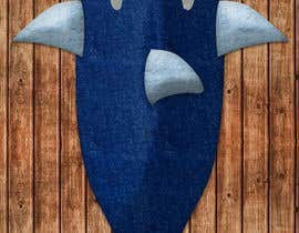 "utkarshbarthwal tarafından Design for the physical product called ""shark tail blanket for kids"" için no 10"