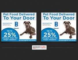 nº 25 pour Design a Static MREC Banner for Pet Food  Business par BannerGuru