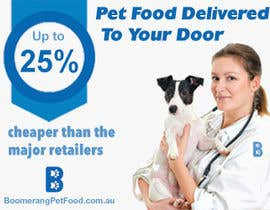 nº 7 pour Design a Static MREC Banner for Pet Food  Business par twodnamara