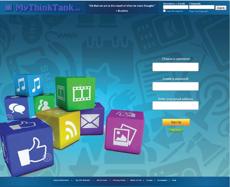 Konkurrenceindlæg #31 for Design Me a Website Background