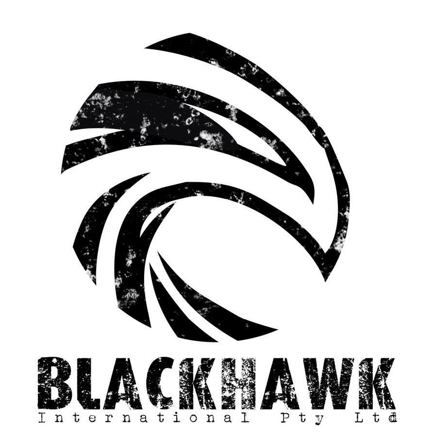 Entry 197 by gdrcworkshop for logo design for blackhawk for Decor 18 international pty ltd