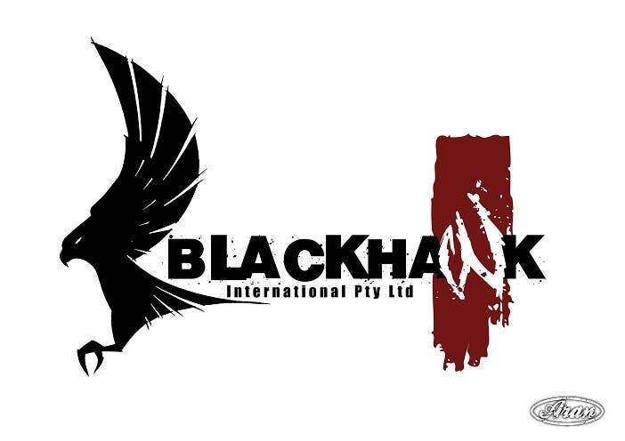 #168 for Logo Design for Blackhawk International Pty Ltd by AranDeBaron