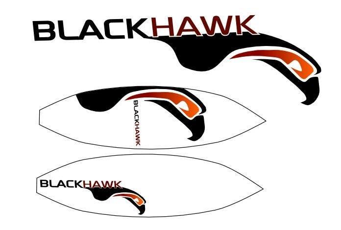 Penyertaan Peraduan #                                        415                                      untuk                                         Logo Design for Blackhawk International Pty Ltd