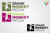 Graphic Design Inscrição do Concurso Nº72 para Logo Design for Spank Monkey Media