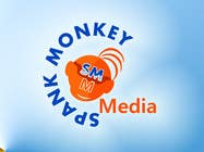 Graphic Design Конкурсная работа №419 для Logo Design for Spank Monkey Media
