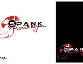 #376 for Logo Design for Spank Monkey Media by Glukowze