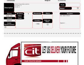 halusinasian tarafından Be creative and Design our delivery note with advertisment için no 2