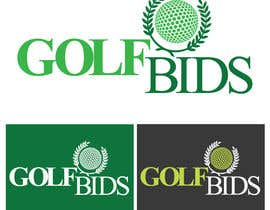#15 para Design a Logo for Golf Bids por felipe0321