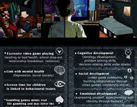 nº 6 pour Make an illustration/photo that visualizes benefits and concerns of playing video games par Moesaif