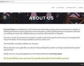 kayceleinne tarafından write a professional company profile for a new student immigration company için no 3