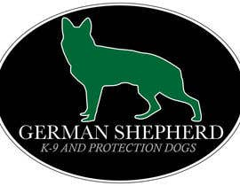 #80 for German Shepherd Logo by Yuhhans